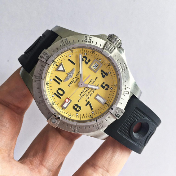 Breitling Avenger Seawolf Yellow Special