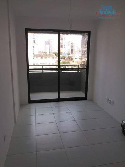 Apartamento Com 2 Dormitórios Para Alugar, 47 M² Por R$ 1.650,00/mês - Casa Amarela - Recife/pe - Ap10086