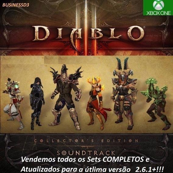 Itens Diablo 3 - O Melhor Combo -xbox One - 3 Set Completos.