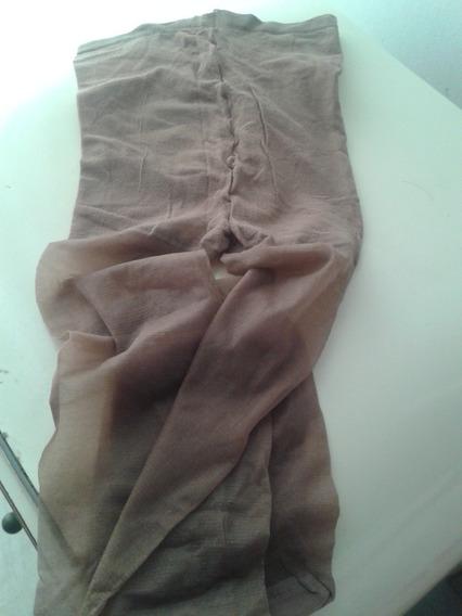 Medias Panty Talla L Color Marrón Claro Nuevas