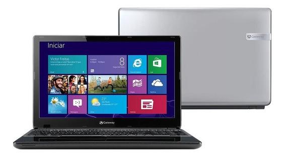 Notebook Core I5 3317-u Gateway 4gb 1tb 15.6 - Ne57007b