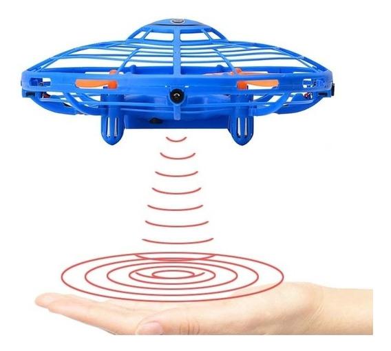 Drone Ufo Interactive Aircraft - Aeronave Interativa Com Luz