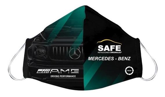 Cubre Boca Mercedes Frente Clase G Edición Safe Refacciones