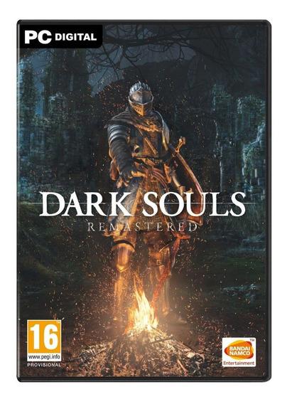 Dark Souls Remastered + 2 Jogos (mídia Física) Pc - Dvd