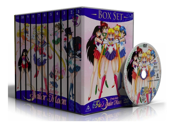 Dvd Sailor Moon + Sailor Moon Crystal - Edição Completa