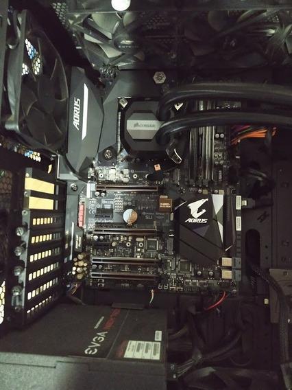 Placa Mãe Aorus Z270x Gaming 8 + Precessador I7 7700k