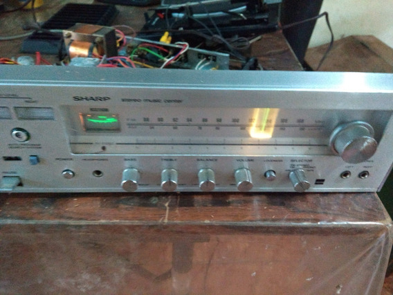 Aparelho De Som Sharp 3x1 (antigo) S/ O Console De Madeira