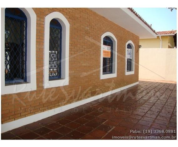 Casa Com 3 Dormitórios Para Alugar, 259 M² Por R$ 3.500,00 - Cidade Universitária - Campinas/sp - Ca1689