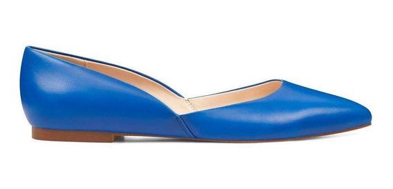 Ballerina Rougley Azul Vestir Nine West