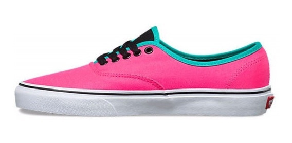 Zapatillas Vans Authentic Brite Neon Pink Mujer