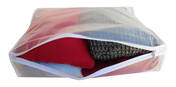 3 Fundas Para Guardar Pulloveres Sweaters Semitransp Novedad