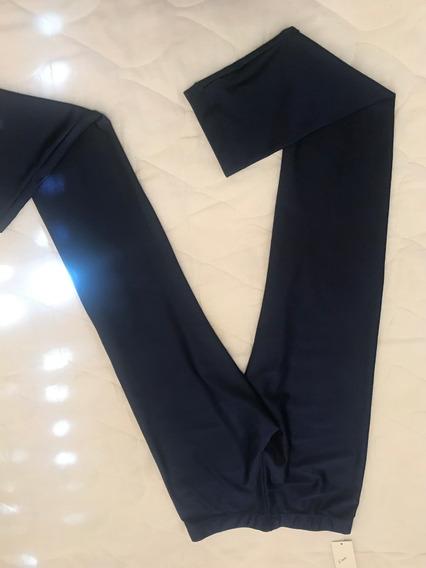 Calza Azul Lycra Talle 2