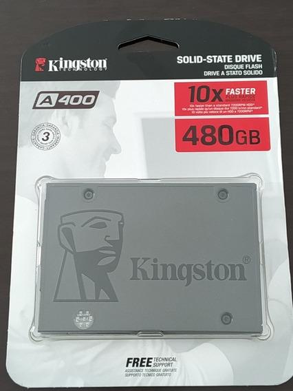 Ssd Kingston 480gb Novo Lacrado Nf Garantia