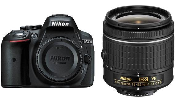 Câmera Nikon D5300 Dslr Kit 18-55mm Vr