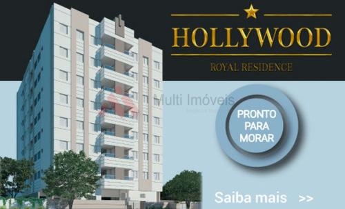 Excelente Apartamento De 02 Quartos (suíte) Com Garagem - Hollywood Royal Residence - Mi118