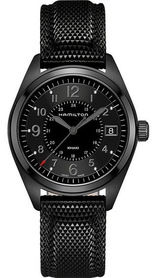 Reloj Hamilton Khaki Field Quartz H68401735 Ghiberti