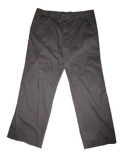 Pantalón Hombre Newport Negro 100% Algodón Casual Large 36