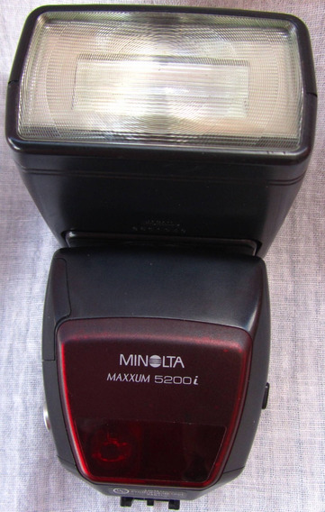 Flash 5200i Minolta Maxxum Dynax Analogo Mont Sony Mon A 0t2