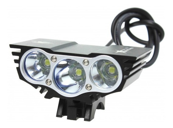 Lampara Bicicleta Solarstorm X3 Recargable 2200 Lumen Reales