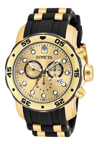 Relógio Invicta Pro Diver 17885 Original ( Banhado 18k)