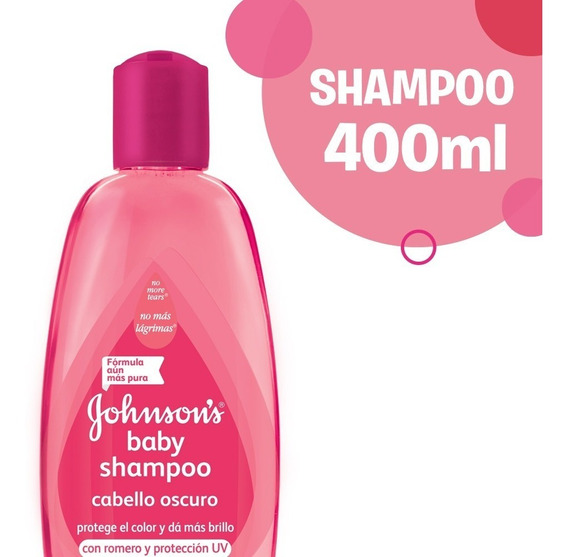 Shampoo Johnson´s Baby Protección Uv 400ml