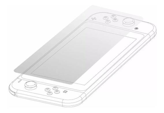 Película De Vidro Para Tela Nintendo Switch - Barato O E M