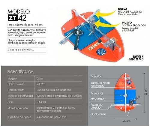 Cortadora De Ceramicos 420 Mm.c/tronz.