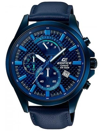 Relógio Casio Masculino Efv-530bl-2avudf Azul- Refinado