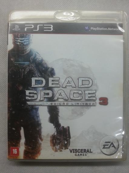 Jogo Ps3 Midia Fisica Usado Original Dead Space 3