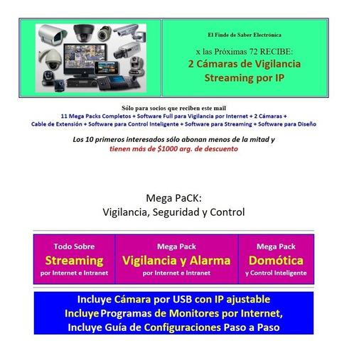Pack Streaming Vigilancia Comntrol Y Seguridad