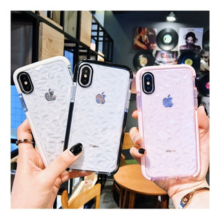 Diamante 3d Relieve iPhone 6 7 8 Plus Xr Xs Max Hombre Mujer