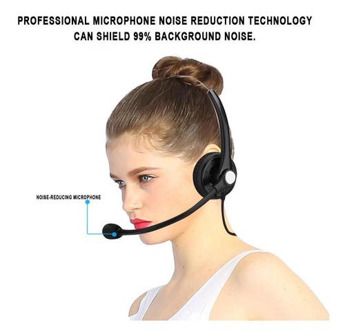 Imagen 1 de 9 de A26-rj Centro De Atención Al Cliente Auricular Headph Telé