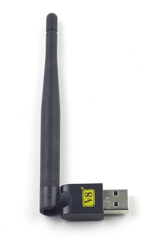 Freesat Usb Wifi Com Antena Trabalho Para Freesat V7 V8 Seri