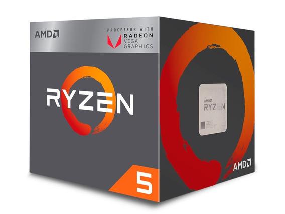 Processador Amd Ryzen 5 2400g 3.6ghz (max Turbo 3.9ghz) Vega