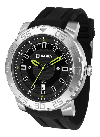 Relógio X-games Masculino Xmsp1010 P2px Aço Analogico