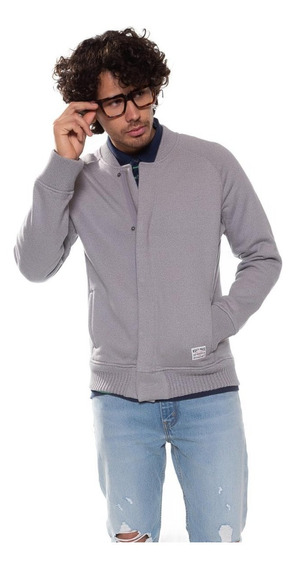 Jaqueta Levis Mighty Made Bomber Masculino Cinza