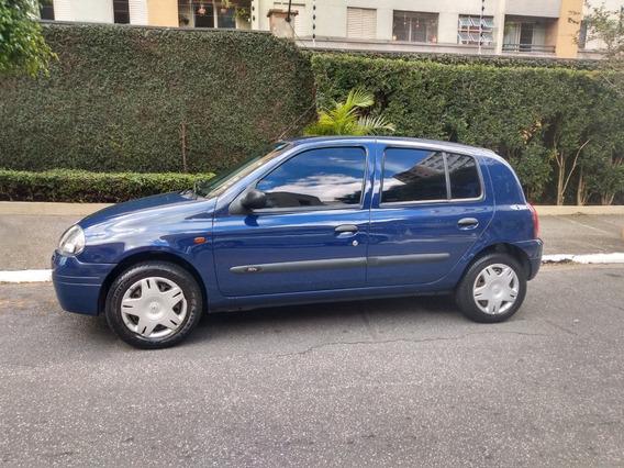 Renault Clio 2002 4 Portas 1.0 16v Único Dono