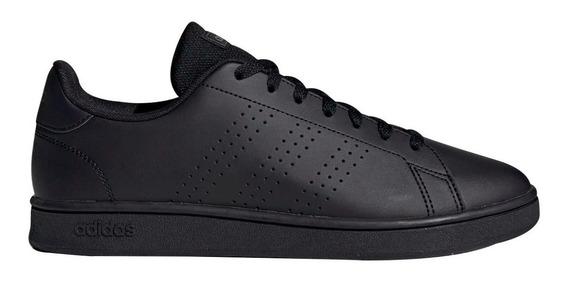 Tenis adidas Advantage Clasico Nuevos Originales Negros Comodos Casuales/deportivos