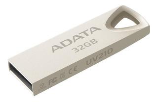 Memoria USB ADATA UV210 32GB dorado