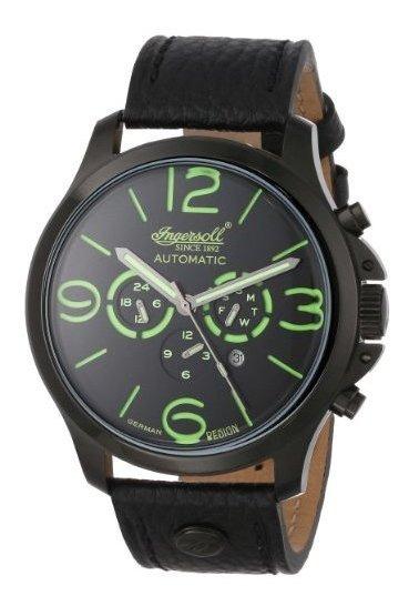 Ingersoll In1503bkgr Totem Reloj Negro Automático Con Pantal