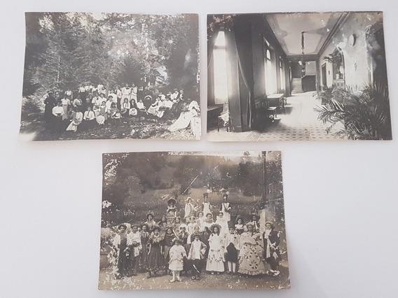 Antigas Fotos Da França - Década De 1900 - Lote 2