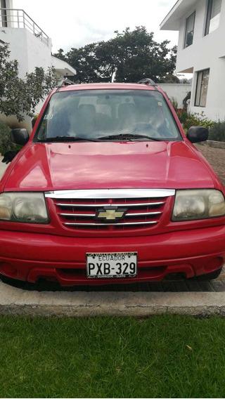 Grand Vitara Motor 2000 Cc Rojo Ferrari En Excelente Estado