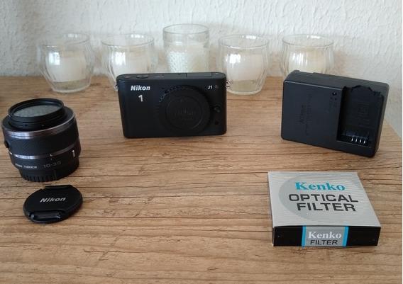 Câmera Nikon 1j1 Igual A Nova
