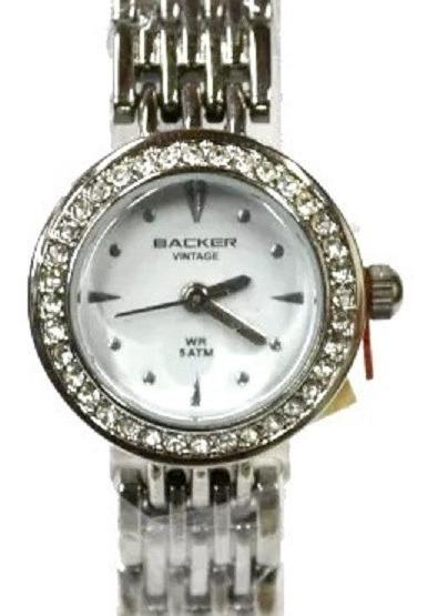 Relógio Backer Feminino Vintage 3441127f Br Original Barato