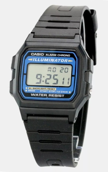 Reloj Casio Original F105w Illuminator