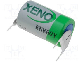 Bateria Xeno Xl-050f T3eu/r Ls14250 3,6v 1/2aa 3 Terminais