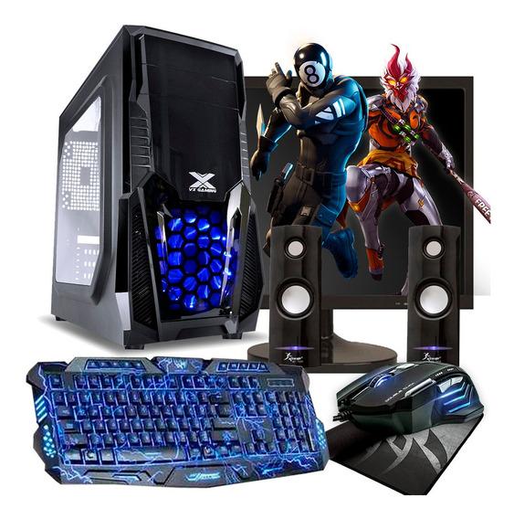 Pc Gamer Completo I3 8gb Ram Hd 500gb Geforce 4gb Tela 20