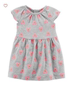 Vestido Carters Bebê Menina Original Promoção