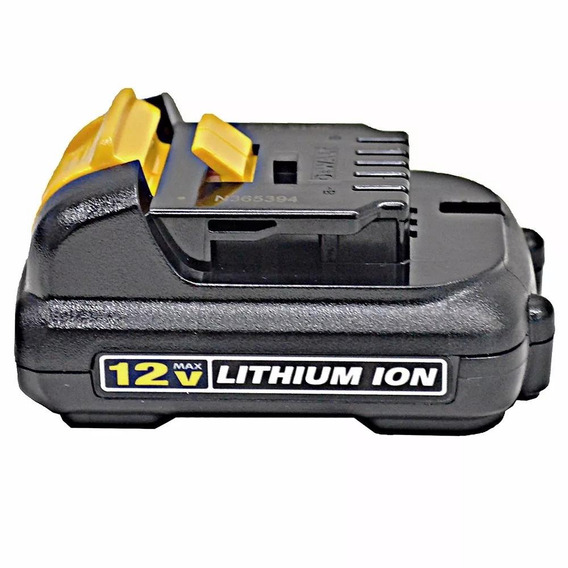 Bateria Lithium 12v Max 1.3 Ah Dcb120-b2 Original Dewalt