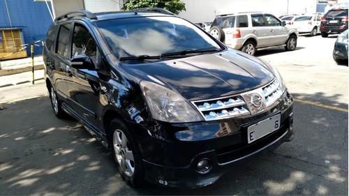 Nissan Grand Livina Sl 1.8 Flex Automatica Completa